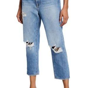 Frame Le Stevie Crop boyfriend jeans
